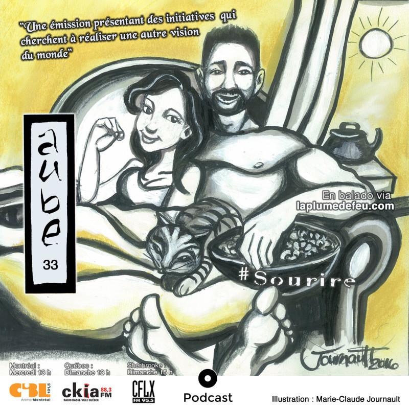 Aube-33-Sourire-Emission-Radio-Illustration-Marie-Claude-Journault